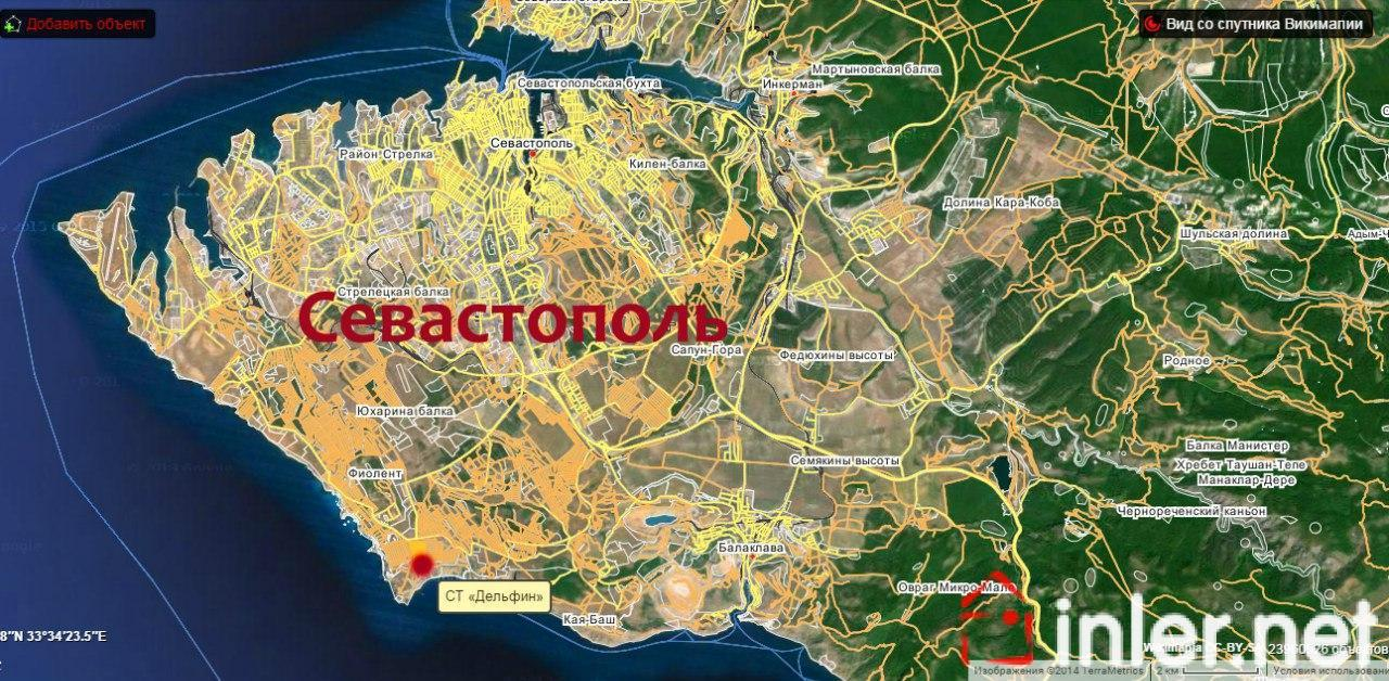 представить севастополь карта фото это один самых